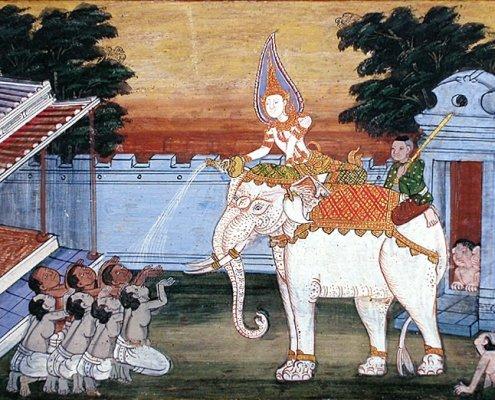 Royal White elephant